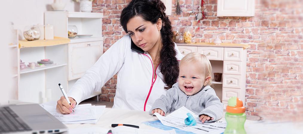 как бизнес-леди остаться Хорошей мамой